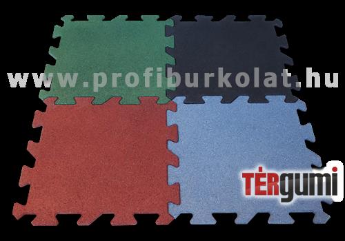 Rezgéscsillapító színes puzzle gumiburkolat a térgumitól.